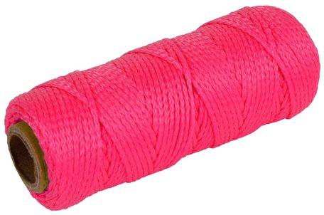 Uitzetkoord roze 1,5mm 50m High Quality