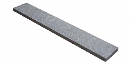 Basalt (G684) vijverrand 100x15x3cm Gevlamd/Geborsteld/Facet