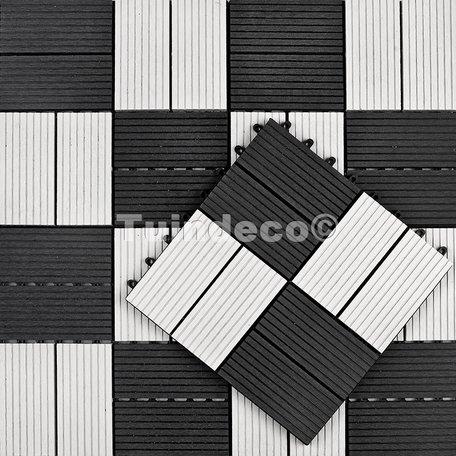 Tuindeco Premium WPC Tuintegel Quartz 30x30cm