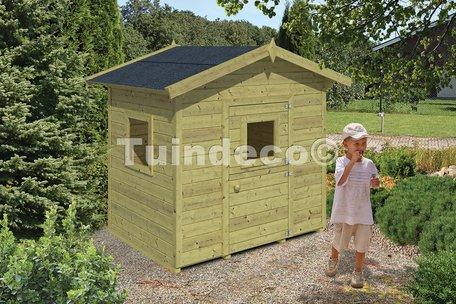 Speelhuisje Pippi (6,5m² dakleer)