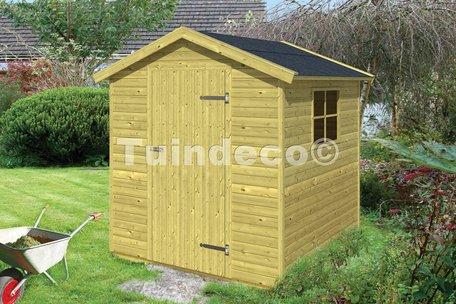Tuinhuisje Boudewijn (dakleer en toebehoren in pakket)