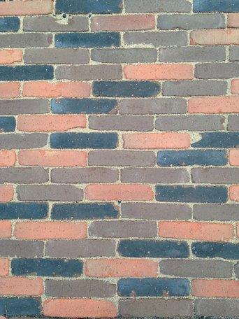 Gebakken Waalformaat 21x5x7cm Mechelen Rood/Bruin/Zwart