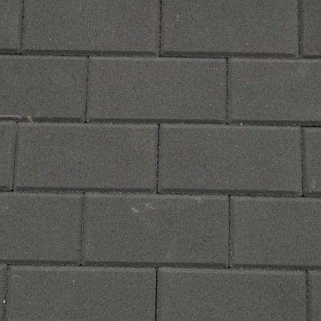 BSS 8cm KOMO MP zwart met deklaag
