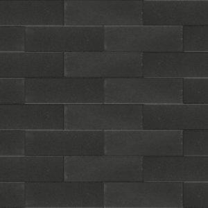 Betonstraatsteen 33x11x8cm Zwart